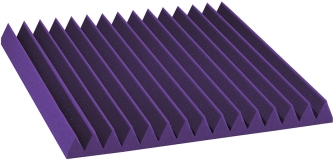 Auralex Studio Foam - Purple ערכה אקוסטית