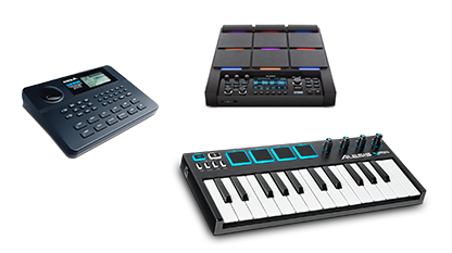 catalog midi controllers and pads