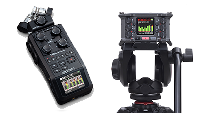 kzpro catalog handheld and field recorders