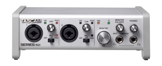 Tascam Series 102i כרטיס קול 10In/2 Out