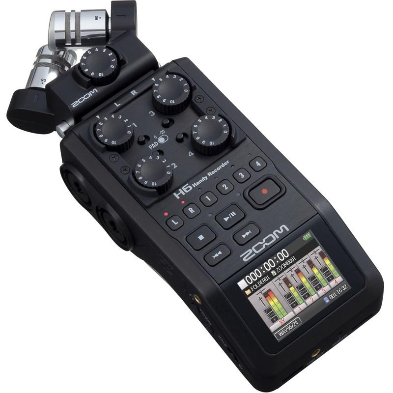 ה-H6 All Black  - המקליט שעושה הכל, מקצועי, נייד ומודולרי